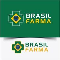 BRASIL FARMA, Logo e Identidade, Saúde & Nutrição
