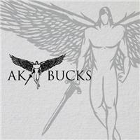 AK BUCKS, Logo e Identidade, Roupas, Jóias & acessórios