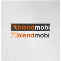 BlendMobi (www.blendmobi.com.br), Logo e Identidade, Tecnologia & Ciencias