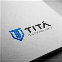Titã Engenharia LTDA, Logo e Identidade, Construção & Engenharia