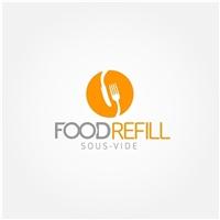 FOOD REFILL, Logo e Identidade, Alimentos & Bebidas