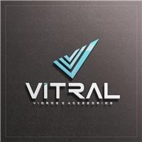 VITRAL VIDROS E ACESSORIOS, Logo e Identidade, Construção & Engenharia