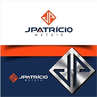 JPATRÍCIO METAIS, Logo e Identidade, Metal & Energia