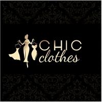 CHIC CLOTHES, Logo e Identidade, Roupas, Jóias & acessórios