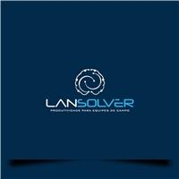 LANSOLVER, Logo e Identidade, Computador & Internet