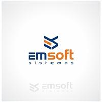 emsoft sistemas, Logo e Identidade, Tecnologia & Ciencias