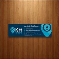km online, Logo e Identidade, Logística, Entrega & Armazenamento
