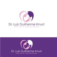 DR. LUIZ GUILHERME KNUST / PRÉ-NATAL SEM SEGREDO, Logo e Identidade, Saúde & Nutrição