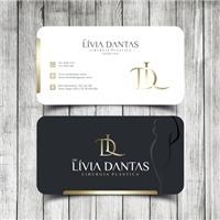 Drª. Lívia Dantas, Logo e Identidade, Saúde & Nutrição