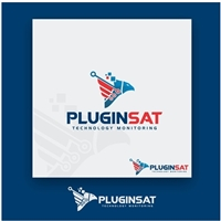 PLUGIN SAT OU PluginSat, Logo e Identidade, Segurança & Vigilância