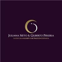 Juliana Neto e Gilberto Pereira saúde da mulher e ultrassonografia, Logo e Identidade, Saúde & Nutrição