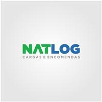 NATLOG, Logo e Identidade, Logística, Entrega & Armazenamento