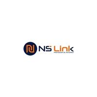 NS Link provedor de internet, Logo e Identidade, Tecnologia & Ciencias