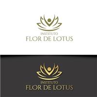 Instituto Flor de Lotus, Logo e Identidade, Educação & Cursos