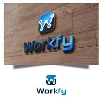 Workfy, Logo e Identidade, Computador & Internet