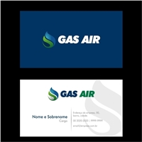 Gas Air, Logo e Identidade, Tecnologia & Ciencias
