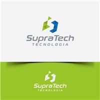 SupraTech, Logo e Identidade, Tecnologia & Ciencias
