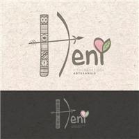 HENI fitocosméticos artesanais, Logo e Identidade, Beleza