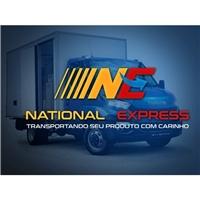NATIONAL EXPRESS, Logo e Identidade, Logística, Entrega & Armazenamento