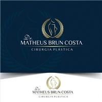 Dr. Matheus Brun Costa, Logo e Identidade, Saúde & Nutrição