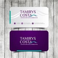 Tamirys Costa - Esteticista Especialista em Sobrancelhas, Logo e Identidade, Beleza