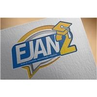 """EJAN2 - Escola de Jornalismo, Administração e Negócios """"2 vezes + Pós"""", Logo e Identidade, Educação & Cursos"""