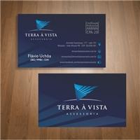 Terra à Vista Consultoria , Logo e Identidade, Consultoria de Negócios