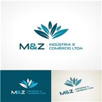M&Z INDÚSTRIA E COMÉRCIO LTDA - MATERIAL MEDICO HOSPITALAR, Logo e Identidade, Saúde & Nutrição
