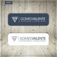 GOMES VALENTE - Advogados e Consultores, Logo e Identidade, Advocacia e Direito