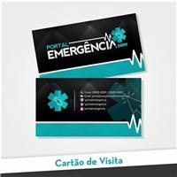 Portal Emergência, Logo e Identidade, Saúde & Nutrição