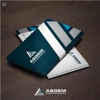 ASGEM - Assessoria em Gestão Empresarial, Logo e Identidade, Consultoria de Negócios
