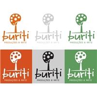 Buriti Produções e Arte, Logo e Identidade, Artes, Música & Entretenimento