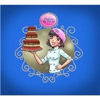 Delícia de doces, Construçao de Marca, Alimentos & Bebidas