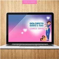 DOLCIPETS - BANHO E TOSA - COMECE CERTO, Logo e Identidade, Educação & Cursos