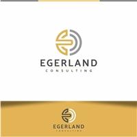EGERLAND CONSULTING, Logo e Identidade, Consultoria de Negócios