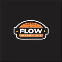 FLOW HAMBURGUERIA, Logo e Identidade, Alimentos & Bebidas