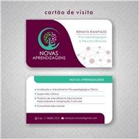 NOVAS APRENDIZAGENS, Logo e Identidade, Educação & Cursos
