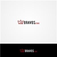 Bravos Store, Logo e Identidade, Roupas, Jóias & acessórios