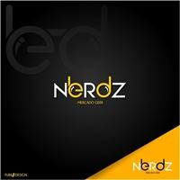 Nerdz, Logo e Identidade, Roupas, Jóias & acessórios