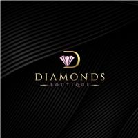 DIAMONDS BOUTIQUE, Logo e Identidade, Roupas, Jóias & acessórios