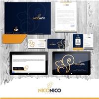 NICONICO, Logo e Identidade, Roupas, Jóias & acessórios