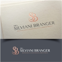 Dra. Silviani Branger , Logo e Identidade, Saúde & Nutrição