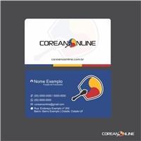 Coreano Online, Logo e Identidade, Educação & Cursos