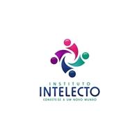 Instituto Intelecto - Slogan: Conecte-se a um novo mundo., Logo e Identidade, Educação & Cursos