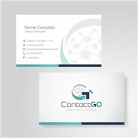 Contact GO, Logo e Identidade, Tecnologia & Ciencias