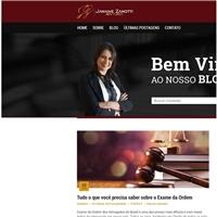 JANAINE ZANOTTI/ADVOCACIA, Web e Digital, Advocacia e Direito