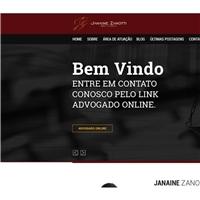 JANAINE ZANOTTI ADVOCACIA, Web e Digital, Advocacia e Direito