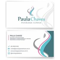 Psicóloga Paula Chaves, Logo e Identidade, Saúde & Nutrição