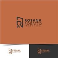 ROSANA RORATTO - ENGENHARIA, Logo e Identidade, Construção & Engenharia