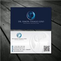 Simon Thiago Leão - Neurocirurgião, Logo e Identidade, Saúde & Nutrição
